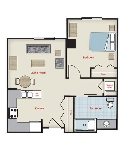 Tennyson 1 bedroom